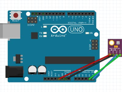 Project 018: Arduino BME280 Environmental Sensor Project