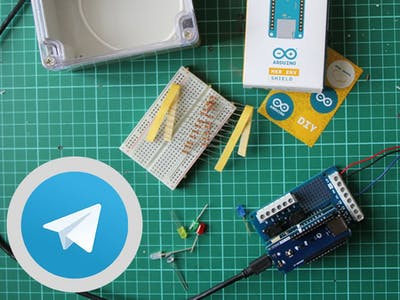 5 telegram Projects - Arduino Project Hub