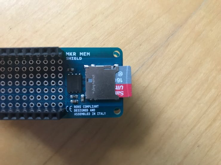 All pins on the MKR GSM will be accessed through the same ports on the MKR MEM shield