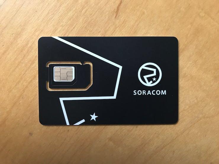 Prepare your Soracom SIM