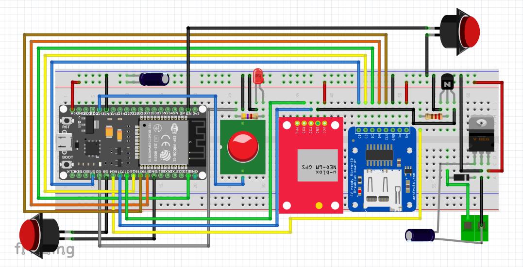 M5Stack GPS Logger - Hackster io
