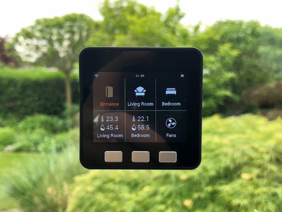 Homepoint - MQTT & HomeKit Touchscreen for ESP32 - Hackster io