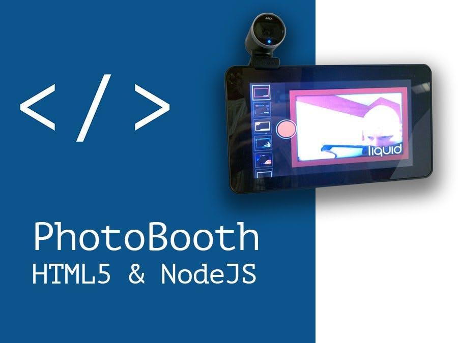 Raspberry Pi PhotoBooth - HTML5 and NodeJS