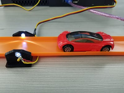 Hot Wheels Car Photogate