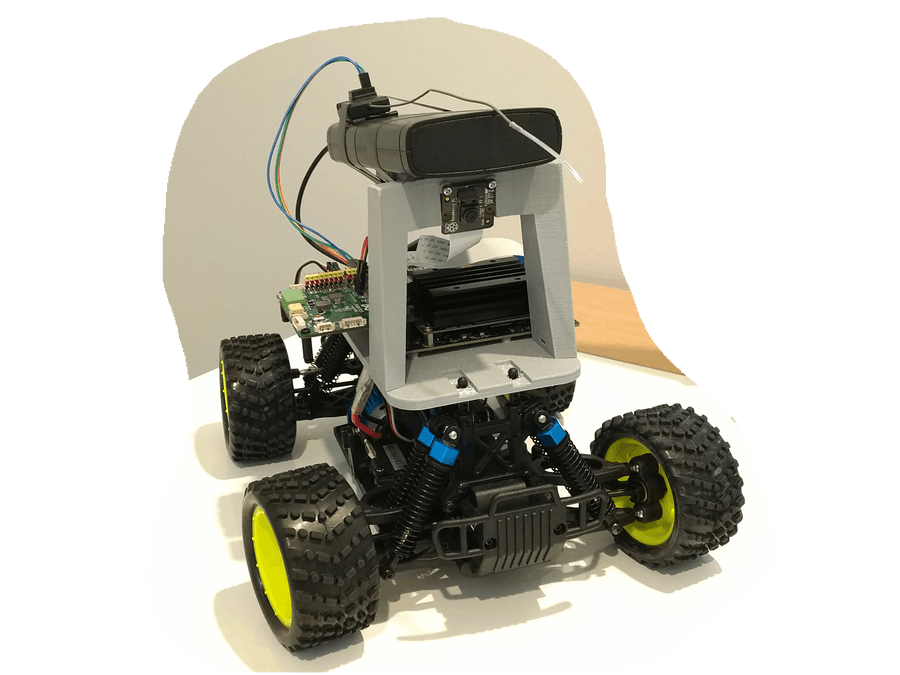Donkey Car with Jetson Nano + Robo HAT MM1