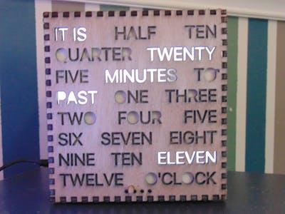 Word Clock!