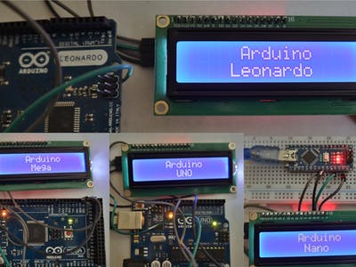 Interfacing LCD1602 with Arduino