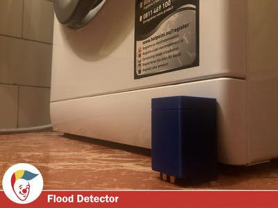 Radio Flood Detector