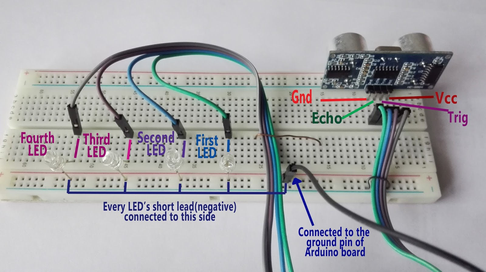 Simple Electric Circuit Project