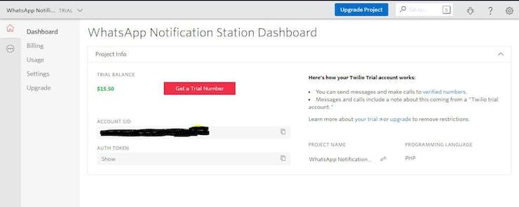 WhatsApp Notification Station - Hackster io