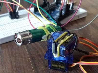 Wireless Laser Guiding