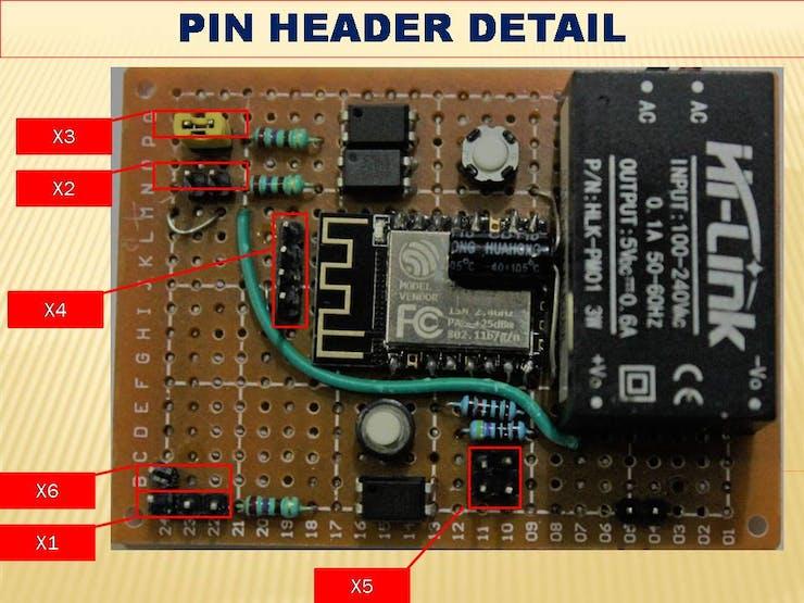 PIN HEADER DETAIL
