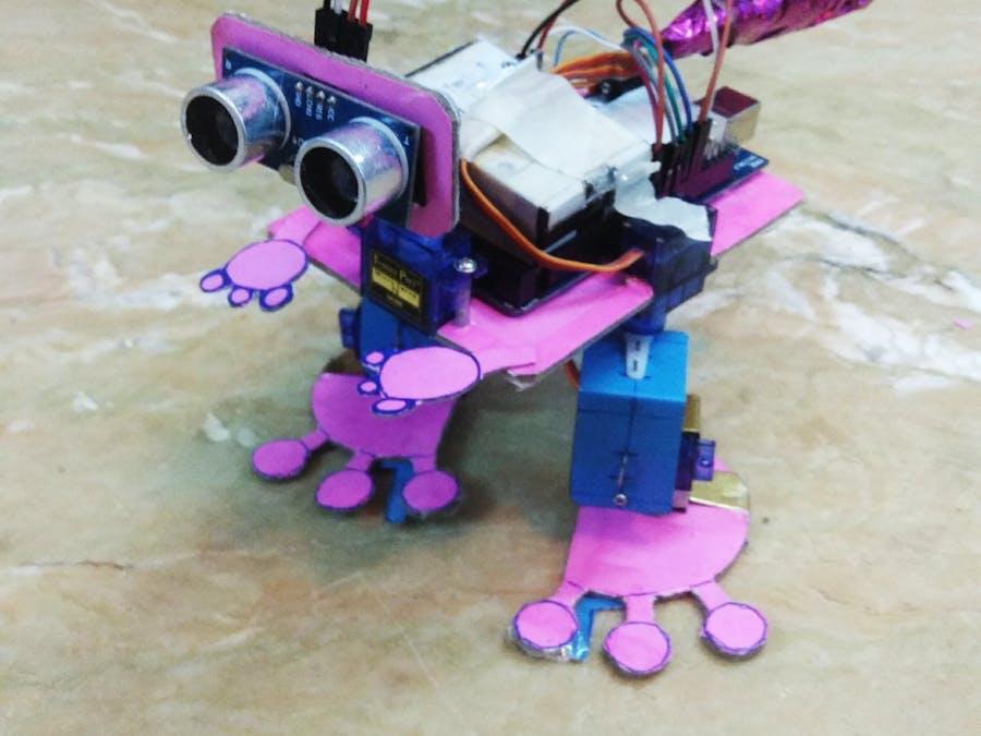 Arduino Biped (Baby Dino)