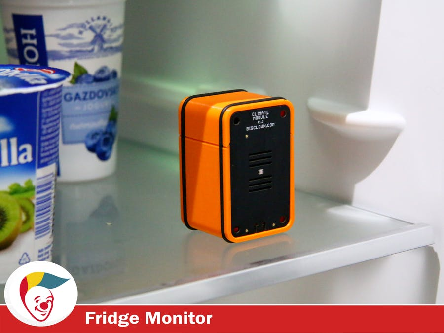 BigClown Smart Fridge Monitor