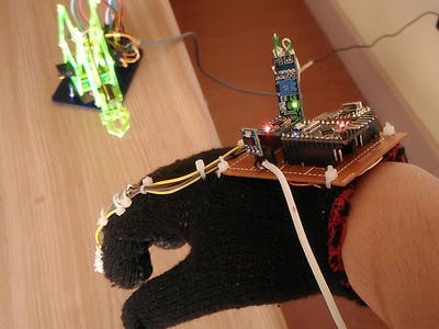 Hand Movement Controlled Robotic Arm