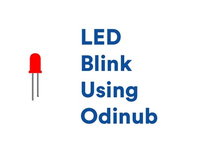 LED Blink Using Odinub GPIO