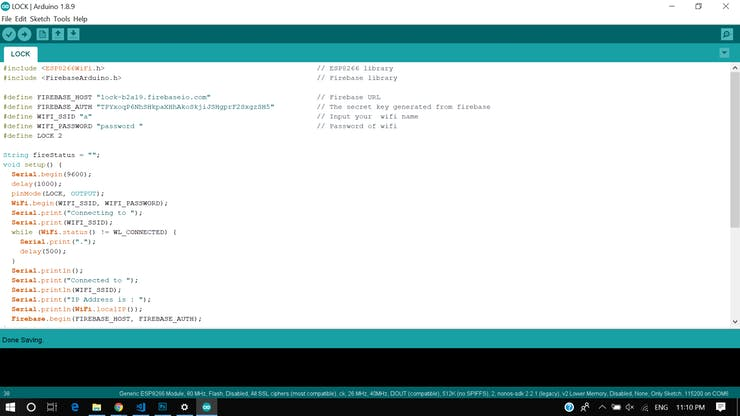 NodeMCU - Code