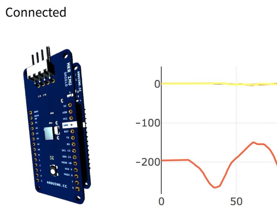 Sensor Data Streaming with Arduino