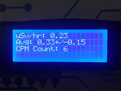 Customizable Geiger Muller Counter