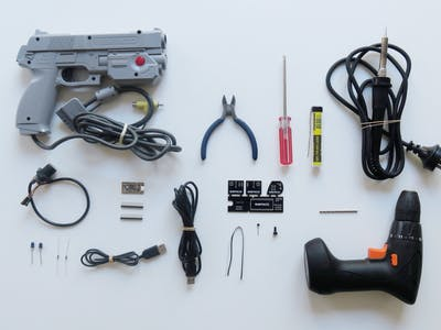 SAMCO Arduino Powered IR Light Gun/Mouse