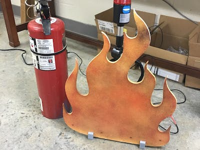 Fire Extinguisher Simulator