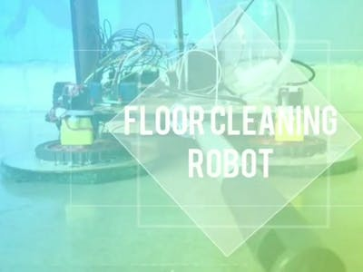 Floor Cleaning Robot