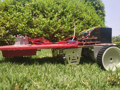 Grass Cutter Robot