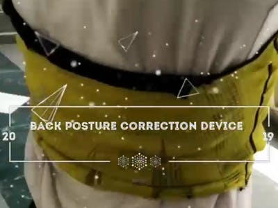 Back Posture Correction Device