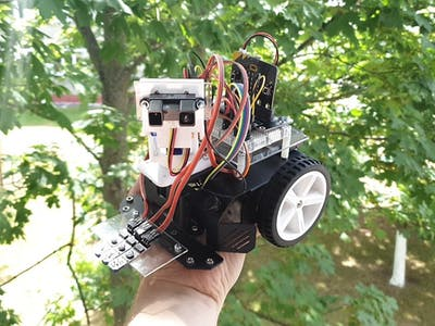 Micro:bit Robotic Car | Obstacle Avoidance and Line Follow