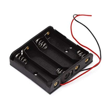 4AA battery case to power to robot's motors
