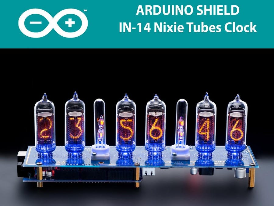Arduino Shield NCS314 NIXIE Tubes Clock IN-14 - Hackster io