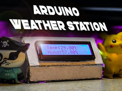 How to Make an Arduino Weather Station with DHT11 Sensor