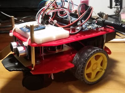 RC Android Rover with GPS Tracker Using DaguRobot and ARTe