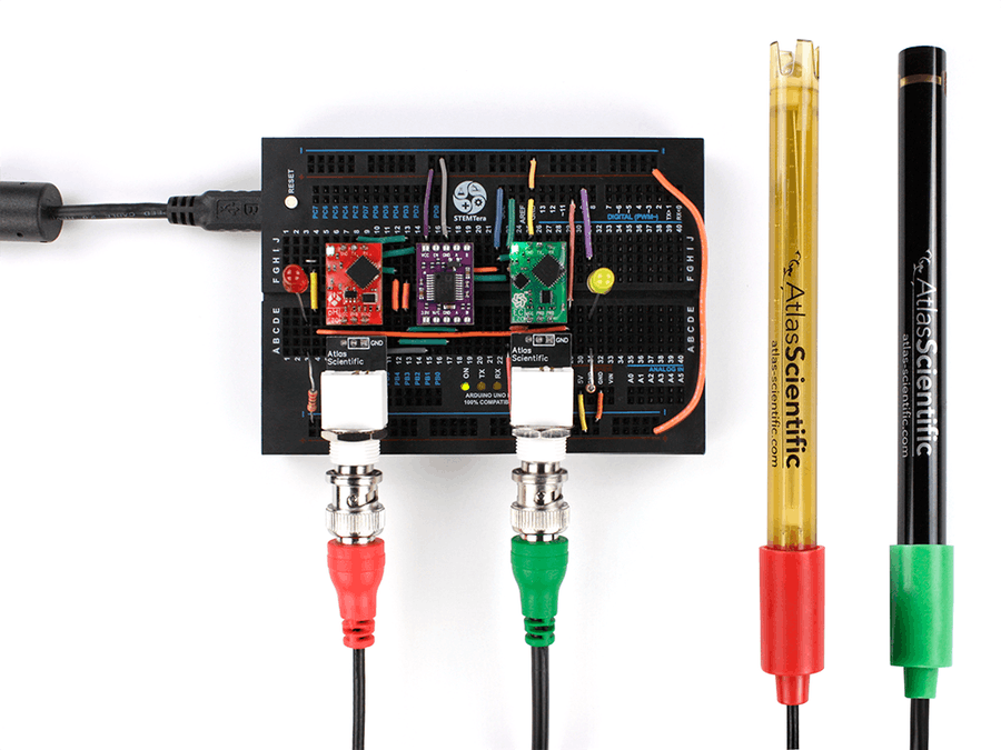 Make Your Own pH and Salinity Monitoring System - Arduino