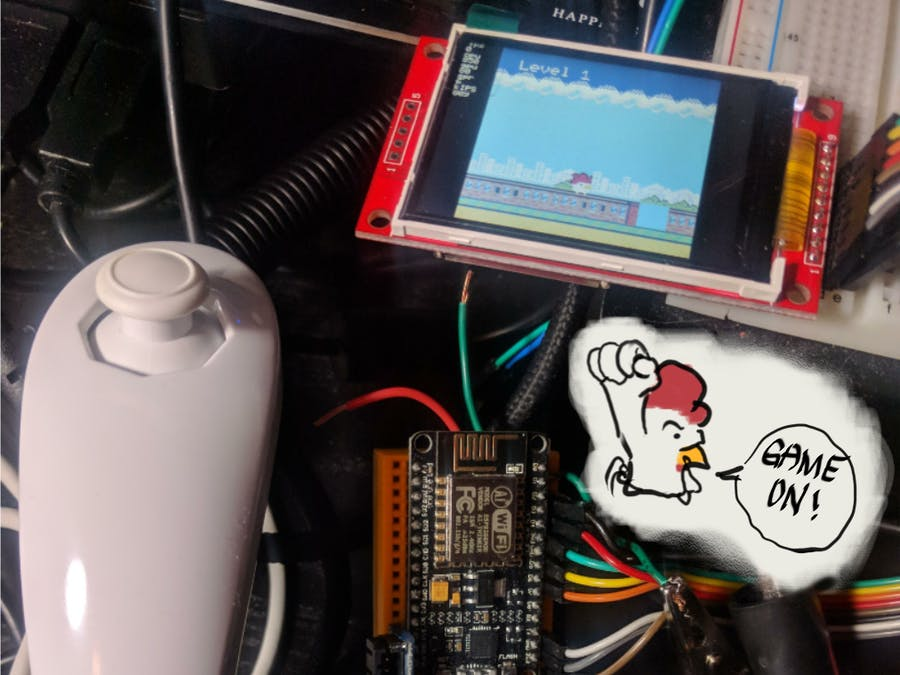 Prototyping the ESP8266 Little Game Machine
