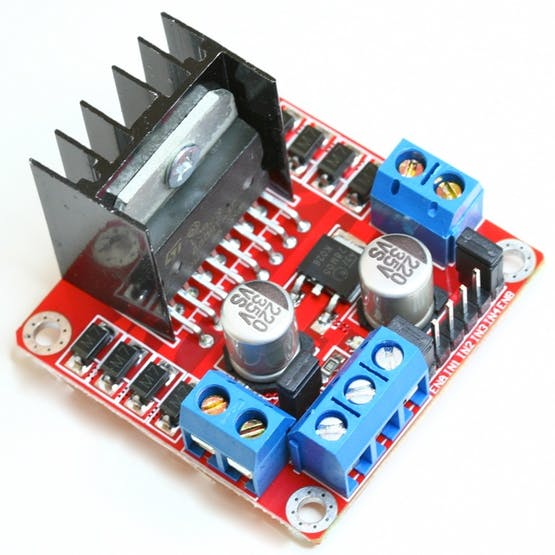 L298N Motordriver the best solution for the first entry into robotics car design