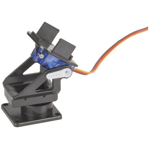 Typical pan-tilt mechanism for your robot