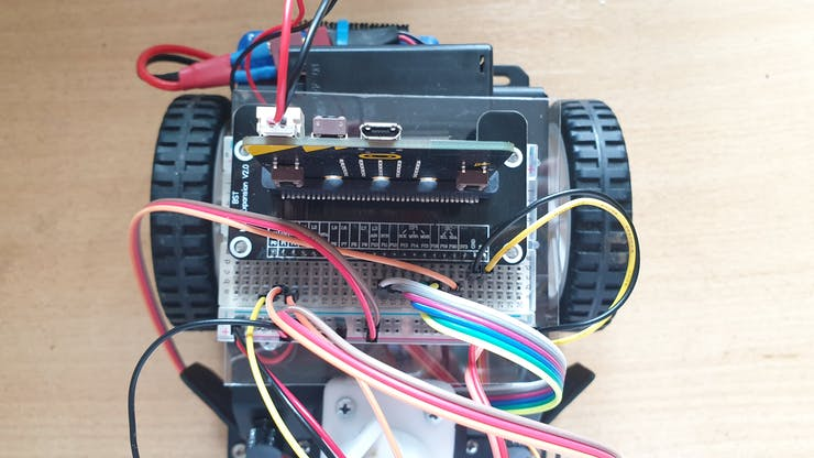 Wiring of the all components