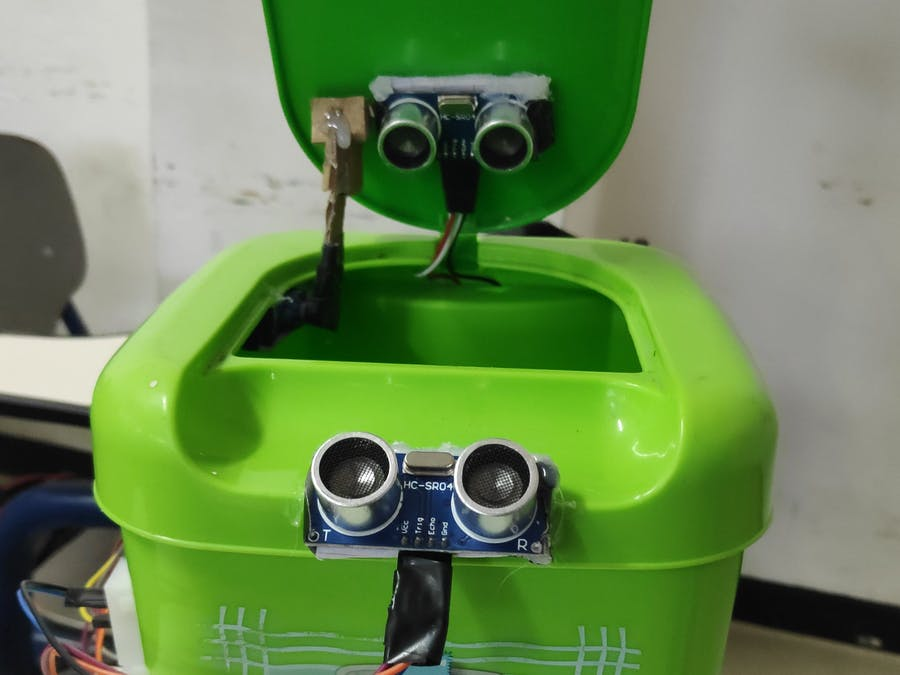 Smart Trash Bin Automation