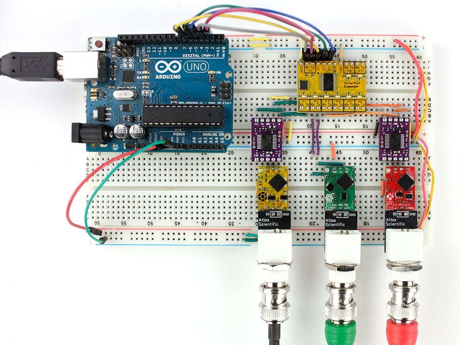 Connecting Multiple Sensors to One Arduino Uno Serial Port