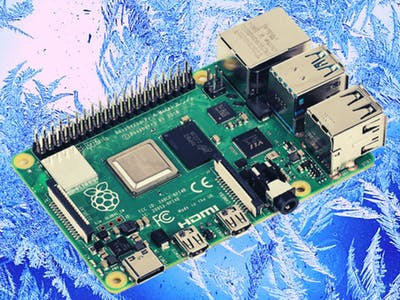 Freezing a Raspberry Pi4