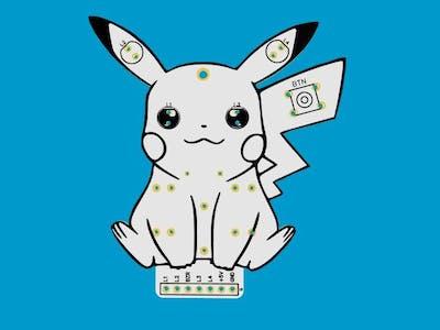 PCB Pikachu Arduino Module