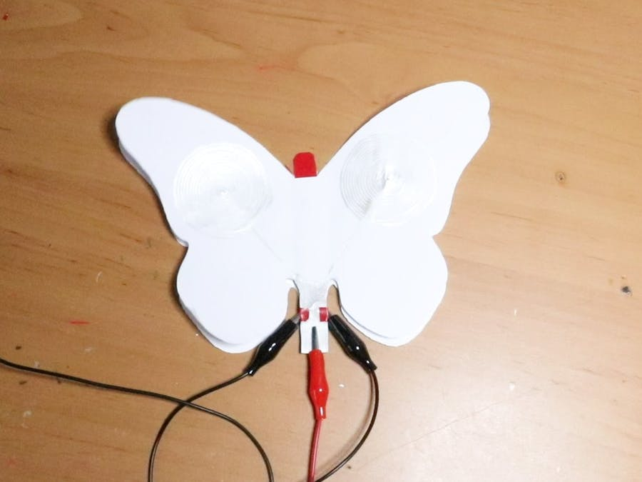 Paper Actuated Butterfly