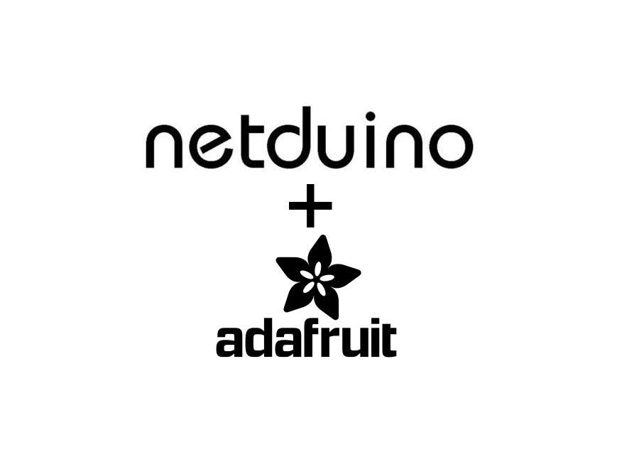 CNC Plotter Based on Netduino 3 and Adafruit Motor Shield V2