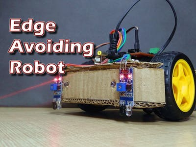 Make an Arduino-Based Edge Avoiding Robot