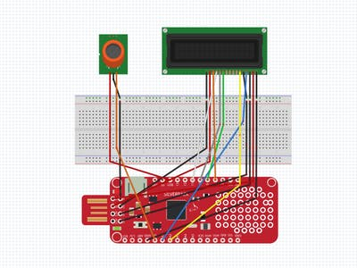 Integration of Surilli Basic M0 with MQ2 Sensor and 16x2 LCD