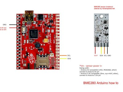 Arduino BME280 Sensor How To