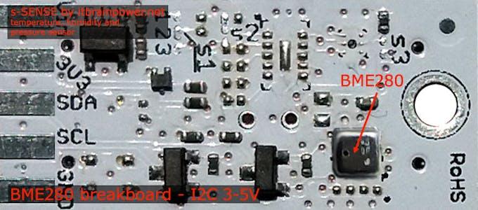 BME280 I2C breakout - top