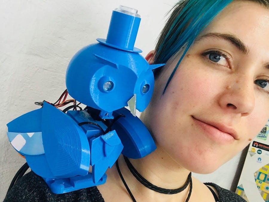 Archimedes 2: Robot Owl Familiar