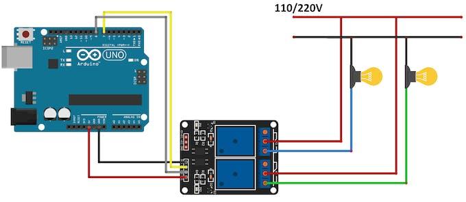 Example lamp circuit